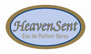 mark for HEAVEN SENT EAU DE PARFUM SPRAY, trademark #85854769