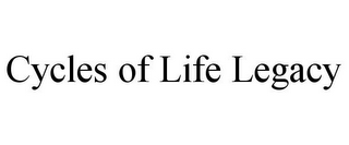 mark for CYCLES OF LIFE LEGACY, trademark #85854771