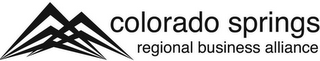 mark for COLORADO SPRINGS REGIONAL BUSINESS ALLIANCE, trademark #85854881