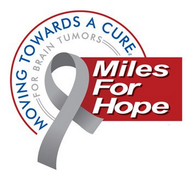 mark for MILES FOR HOPE MOVING TOWARDS A CURE FOR BRAIN TUMORS, trademark #85854917