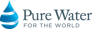 mark for PURE WATER FOR THE WORLD, trademark #85855271