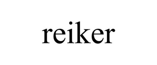 mark for REIKER, trademark #85855324