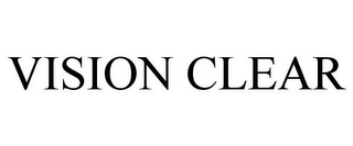 mark for VISION CLEAR, trademark #85855389