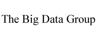 mark for THE BIG DATA GROUP, trademark #85855532