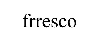 mark for FRRESCO, trademark #85855592