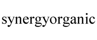 mark for SYNERGYORGANIC, trademark #85855670