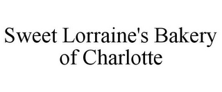 mark for SWEET LORRAINE'S BAKERY OF CHARLOTTE, trademark #85855891