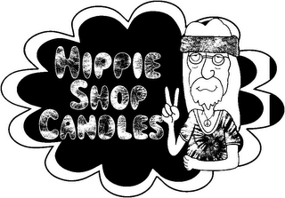 mark for HIPPIE SHOP CANDLES, trademark #85856016