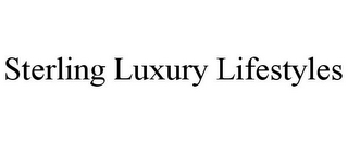 mark for STERLING LUXURY LIFESTYLES, trademark #85856025