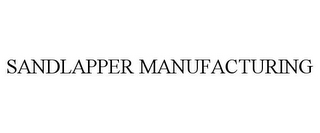 mark for SANDLAPPER MANUFACTURING, trademark #85856066
