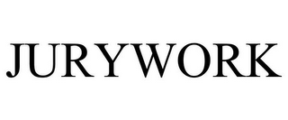 mark for JURYWORK, trademark #85856147
