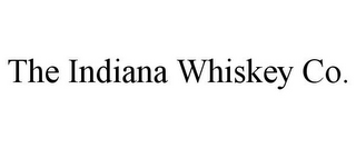 mark for THE INDIANA WHISKEY CO., trademark #85856216
