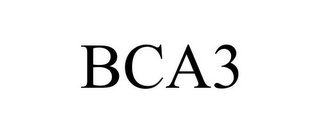 mark for BCA3, trademark #85856246