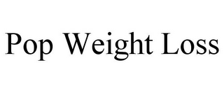 mark for POP WEIGHT LOSS, trademark #85856344