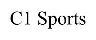 mark for C1 SPORTS, trademark #85856679