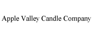 mark for APPLE VALLEY CANDLE COMPANY, trademark #85857125