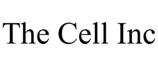 mark for THE CELL INC, trademark #85857172