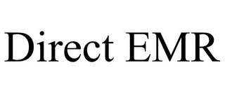 mark for DIRECT EMR, trademark #85857215