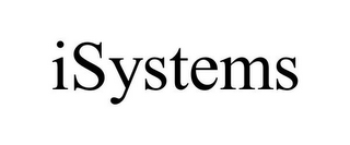 mark for ISYSTEMS, trademark #85857352