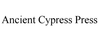 mark for ANCIENT CYPRESS PRESS, trademark #85857361