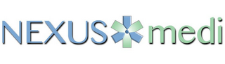 mark for NEXUS MEDI, trademark #85857430