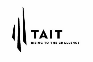 mark for TAIT RISING TO THE CHALLENGE, trademark #85857466