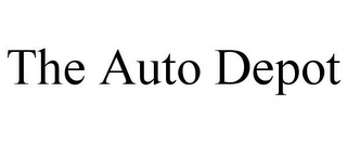 mark for THE AUTO DEPOT, trademark #85857518