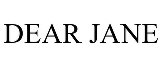 mark for DEAR JANE, trademark #85857535