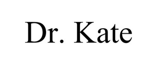 mark for DR. KATE, trademark #85858222