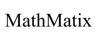 mark for MATHMATIX, trademark #85858342