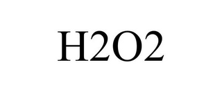 mark for H2O2, trademark #85858373