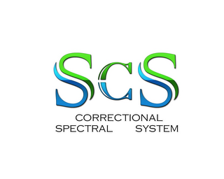 mark for S C S CORRECTIONAL SPECTRAL SYSTEM, trademark #85858512