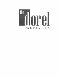 mark for THE DOREL PROPERTIES, trademark #85858640