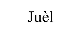 mark for JUÈL, trademark #85858720