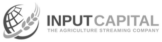 mark for INPUT CAPITAL THE AGRICULTURE STREAMING COMPANY, trademark #85858892
