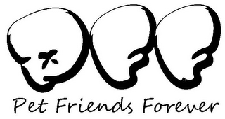 mark for PFF PET FRIENDS FOREVER, trademark #85859052