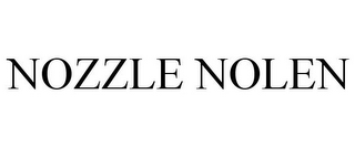 mark for NOZZLE NOLEN, trademark #85859117