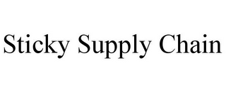 mark for STICKY SUPPLY CHAIN, trademark #85859144