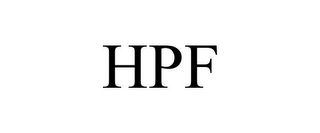 mark for HPF, trademark #85859188