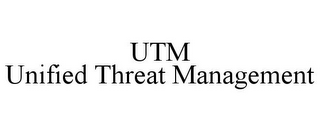 mark for UTM UNIFIED THREAT MANAGEMENT, trademark #85859212