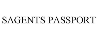 mark for SAGENTS PASSPORT, trademark #85859426
