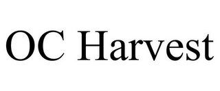 mark for OC HARVEST, trademark #85859548