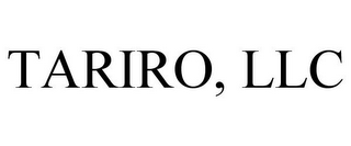 mark for TARIRO, LLC, trademark #85859696