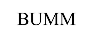mark for BUMM, trademark #85859840