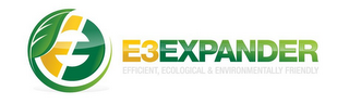 mark for E3 E3EXPANDER EFFICIENT, ECOLOGICAL & ENVIRONMENTALLY FRIENDLY, trademark #85859877