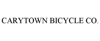 mark for CARYTOWN BICYCLE CO., trademark #85859948