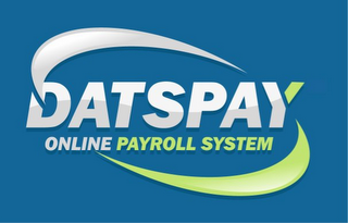 mark for DATSPAY ONLINE PAYROLL SYSTEM, trademark #85859972