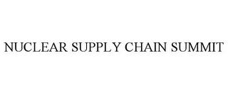 mark for NUCLEAR SUPPLY CHAIN SUMMIT, trademark #85860262