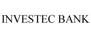 mark for INVESTEC BANK, trademark #85860401