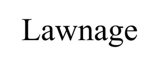 mark for LAWNAGE, trademark #85860427